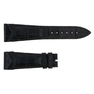 純正ストラップ STRAP フランク・ミュラー ブラッククロコ - メンズ 腕時計替えベルト 【新品】