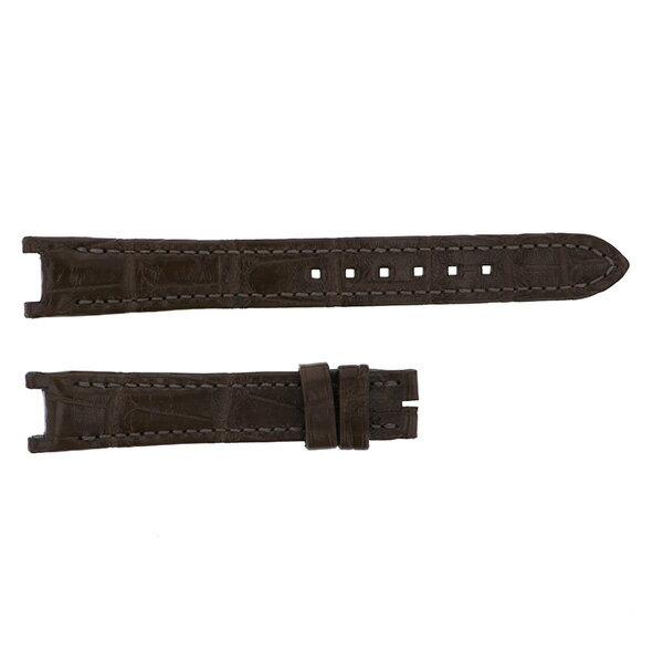 純正ストラップ STRAP ハリー・ウィンストン ブラウンクロコ 新品 腕時計替えベルト レディース