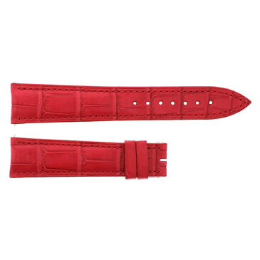 純正ストラップ STRAP フランク・ミュラー 6850用 レッドクロコ 艶無 6850 メンズ 腕時計替えベルト 【新品】