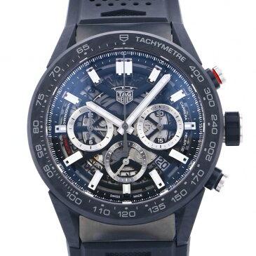 【期間限定ポイント3倍 10/4〜10/11】 タグ・ホイヤー TAG HEUER カレラ キャリバー ホイヤー02 クロノグラフ CBG2A91.FT6173 シルバー/ブラック文字盤 新品 腕時計 メンズ