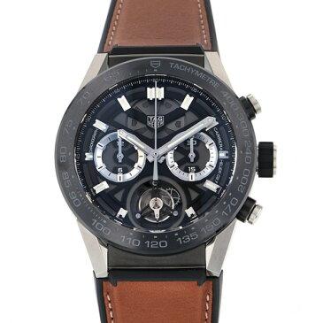 【ポイントバックセール 3%ポイント還元】 タグ・ホイヤー TAG HEUER カレラ キャリバー ホイヤー 02T COSC CAR5A8Y.FT6072 ブラック文字盤 メンズ 腕時計 【新品】