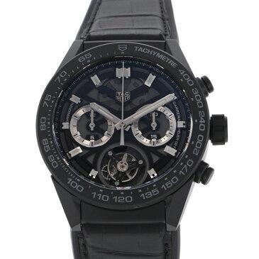 【ポイントバックセール 3%ポイント還元】 タグ・ホイヤー TAG HEUER カレラ キャリバー ホイヤー02T CAR5A90.FC6415 ブラック文字盤 メンズ 腕時計 【新品】