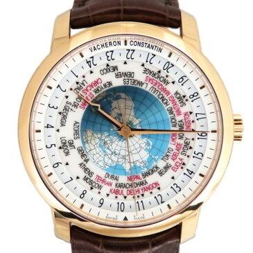 ヴァシュロン・コンスタンタン VACHERON CONSTANTIN パトリモニー トラディショナル ワールドタイム 86060/000R-9640 ホワイト文字盤 新品 腕時計 メンズ