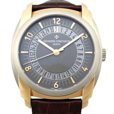 ヴァシュロン・コンスタンタン VACHERON CONSTANTIN ケ・ド・リル・デイト・セルフワインディング 86050/000R-I022I グレー文字盤 新品 腕時計 メンズ