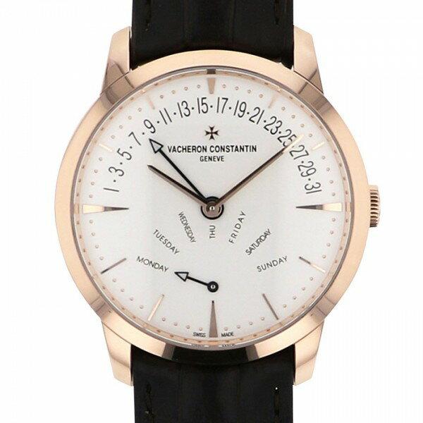 ヴァシュロン・コンスタンタン VACHERON CONSTANTIN パトリモニー レトログラード デイ/デイト 4000U/000R-B110 ホワイト文字盤 新品 腕時計 メンズ