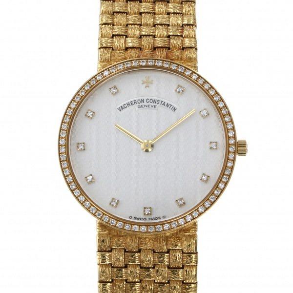 ヴァシュロン・コンスタンタン VACHERON CONSTANTIN メッシュドール シルバー文字盤 アンティーク 腕時計 レディース
