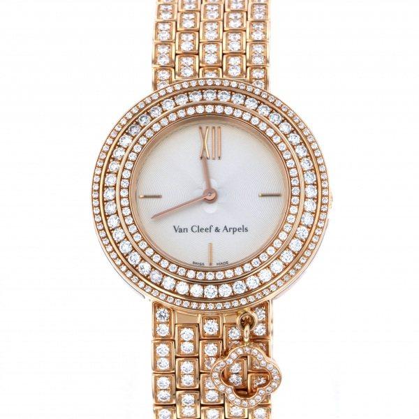 ヴァンクリーフ&アーペル Van Cleef & Arpels Charms S VCARN5LO00 シルバー文字盤 新品 腕時計 レディース