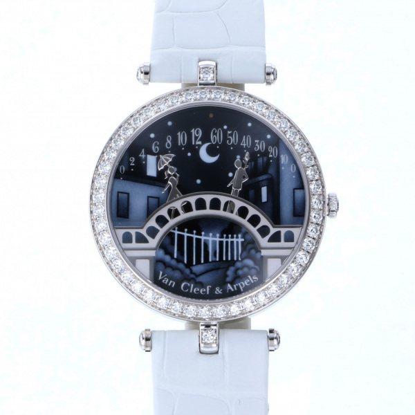 ヴァンクリーフ&アーペル Van Cleef & Arpels レディ アーペル ポン デ ザムルー VCARN9VI00 ブルー文字盤 新品 腕時計 レディース