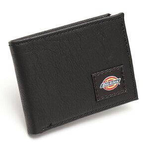 ディッキーズ Dickies ロゴパッチ 2つ折り 本革財布 カジュアル ワレット USA直輸入モデル 31DI130004 送料無料