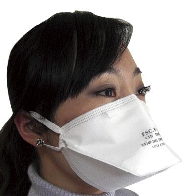 N99規格新型インフルエンザマスク 10枚組