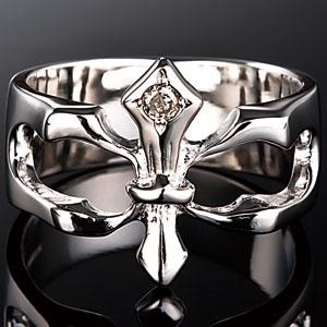 王家の紋章ダイヤ付
