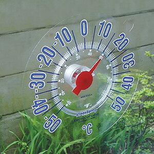 一目でわかる室外温度計クリアテンプ2個組[代引き手数料無料]