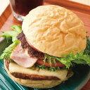 金谷ホテルベーカリージャンボハンバーガー4食セット