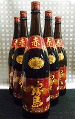 送料無料 赤霧島 1800ml 芋焼酎 6本セット ※北海道、沖縄はプラス1500円いただきます。