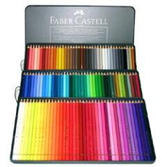 Faber-Castell アルブレヒト・デューラー 水彩色鉛筆 120色セット(缶入)