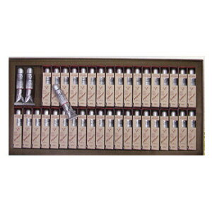 【油絵 画材セット】ホルベイン 高品位油絵具ヴェルネ 全40色セット (紙箱入り):ゆめ画材