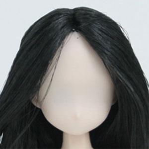 オビツドール21HD-F01WC0121-01植毛ヘッドホワイティブラック