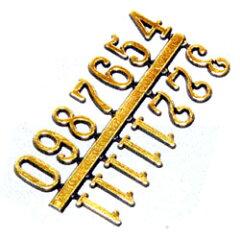 時計用文字符 アラビア数字 小 (BF-202)