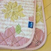 キルトマルチカバー正方形日本製ピンクカラー送料無料寝装品抗菌防臭素材東レセベリス綿わた