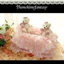 ティッシュカバー 北欧 レース おしゃれ かわいい 薔薇雑貨 マリーローズシリーズテディベアドレス 母の日ギフト