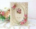 写真立て フォントフレーム アンティック おしゃれ かわいい ローズ 薔薇雑貨姫系 花柄 ボタニカル バラ 雑貨 花柄 かわいい 母の日ギフト 02P28Sep16