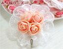 フック 壁掛け おしゃれ かわいい ローズ 薔薇雑貨姫系 花柄 ボタニカル バラ 雑貨 花柄 かわいい 母の日ギフト 02P28Sep16