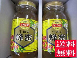 独自にブレンドした蜜とみかんの花の時期に採蜜した期間限定の蜜こだわり純国産蜂蜜1000g