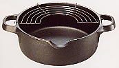 南部鉄器 天ぷら鍋 20cm
