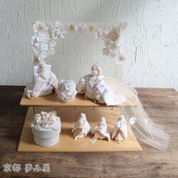 白粋-HAKI-二段雛飾り夢衣(ゆめごろも)