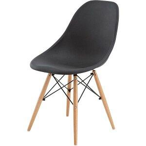 《レトロモダン家具》カフェチェアブラックCL-793CBK(組立)