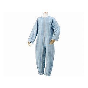 ハートフルウェアフジイハートフルつなぎパジャマ/HP06-100M03ブルー