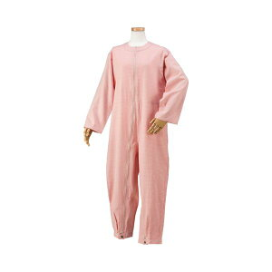ハートフルウェアフジイハートフルつなぎパジャマ/HP06-100L03ピンク