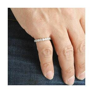 プラチナPt900/1ctフルエタニティダイヤリング指輪ペアリング9号(ファッションリング指輪天然石ダイヤモンド)
