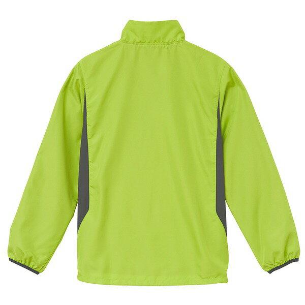 シャカシャカと音がしない撥水&防風加工・リフレクター・裏地付スタンドジップジャケット ホワイト XL