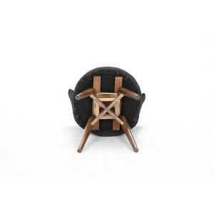 360度回転式ダイニングチェア【クラム】ファブリック木製(天然木)GYグレー(灰)グレー(灰)【】(生活用品インテリア雑貨インテリア家具椅子ダイニングチェアソファベンチ)