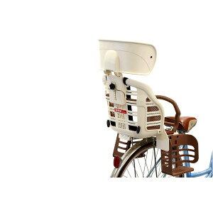 ヘッドレスト付きデラックス後ろ用子供乗せ(自転車用チャイルドシート)【OGK】RBC-007DX3ブラック(黒)/ブラウン【】(カテゴリー:スポーツレジャー自転車(スポーツバイク)その他の自転車)