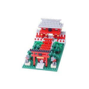 カワダNBH_108稲荷神社nanoblock(ナノブロック)(カテゴリー:ホビー>エトセトラ>おもちゃ>ブロック>nanoblock>ナノブロック)