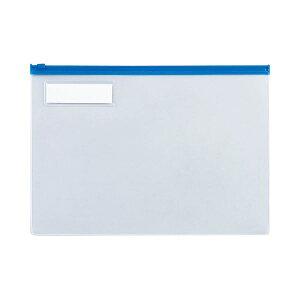 (まとめ)TANOSEEクリヤーケース(クリアケース)A4ヨコ青1セット(20枚)【×2セット】(生活用品インテリア雑貨文具オフィス用品その他の文具オフィス用品)