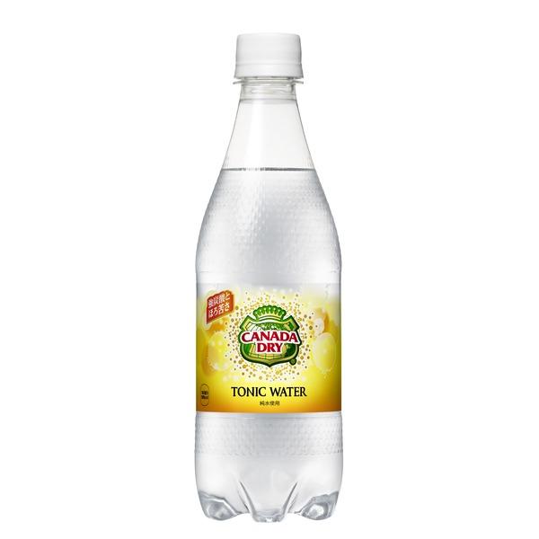 コカ・コーラ カナダドライ トニックウォーター ペットボトル 500ml×48本(24本×2ケース) (カテゴリー:フード>ドリンク>スイーツ>炭酸飲料 )