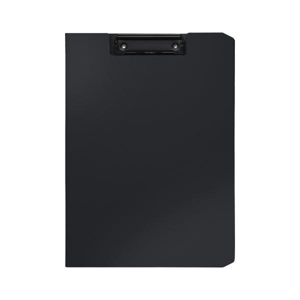 (まとめ) ソニック クリップファイル ソフィット A4タテ ブラック【×20セット】 黒