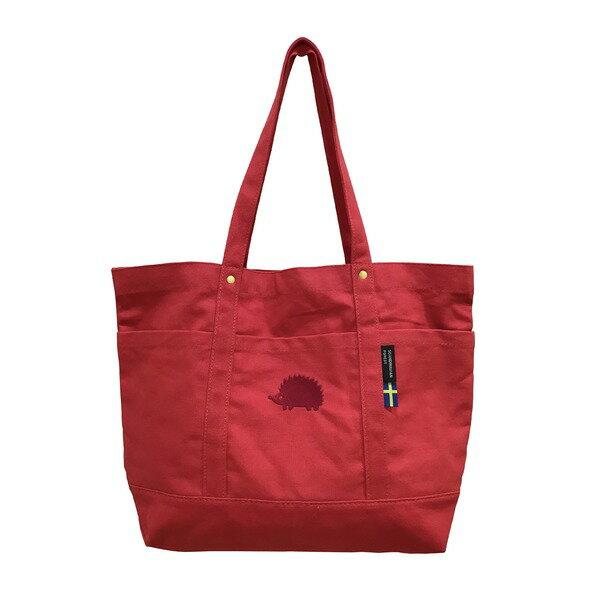 產品詳細資料,日本Yahoo代標|日本代購|日本批發-ibuy99|包包、服飾|包|女士包|手提袋|SCANDINAVIAN FOREST 帆布トート Lサイズ レッド 赤