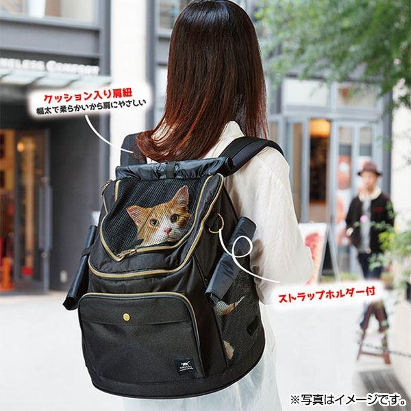 necoco リュックキャリー ブラック【ペット用品】