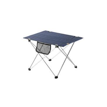 折りたたみ キャンプテーブル 机 /アウトドアテーブル 【幅56cm】 アルミニウム 『クイックテーブル 』 〔キャンプ 釣り〕