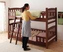 シングルベッド用ベッドフレームのみブラウン茶