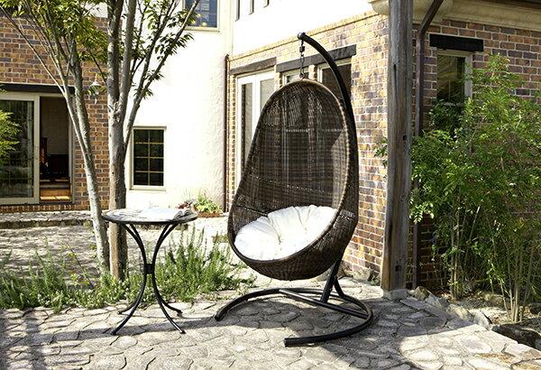 ハンギングチェアー スイングチェアー ガーデン LHC-4803 :家具・インテリア雑貨のMashup