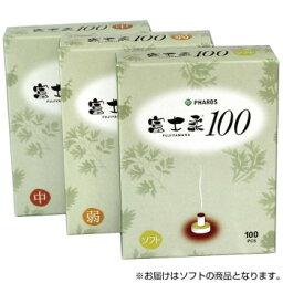 ファロス お灸 富士柔100 温度/ソフト 100個入×6セット FWS460  【abt-1671480】【APIs】