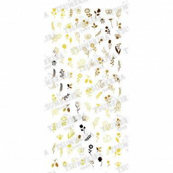 ネイル, その他 TSUMEKIRA() flicka nail arts 3 nordic garden gold SG-FLI-106 () abt-1688440APIs
