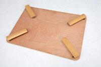 折れ脚テーブル(ナチュラル)VT-7922-120NA【送料無料】