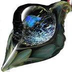1点物、世界に1つガラスペンダント スネークヘッド 840 メンズネックレスガラスネックレス ガラスアクセサリー メンズペンダント レザーチョーカー メンズアクセサリー 日本製 ハンドメイド ブランド<Dragon Pipe>【auktn】