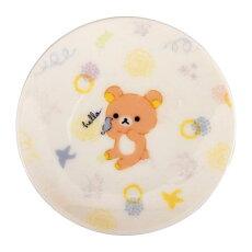 リラックマ豆皿(ホワイト/白)RK151-333